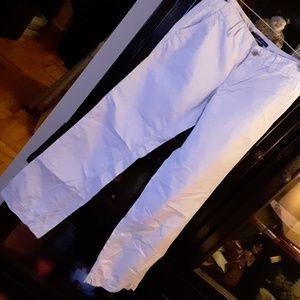 GAP khaki trouser fit pants size 4 LONG